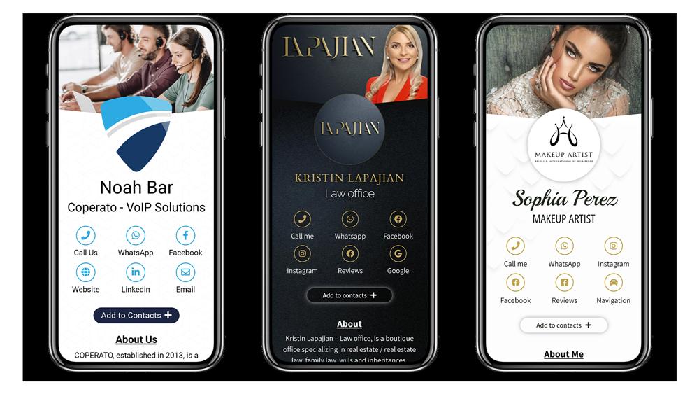 Get Marketing - digital business card